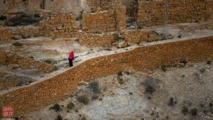 Donna Berbera ripresa durante Viaggio fotografico in Tunisia